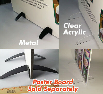 Poster board sign holder stand