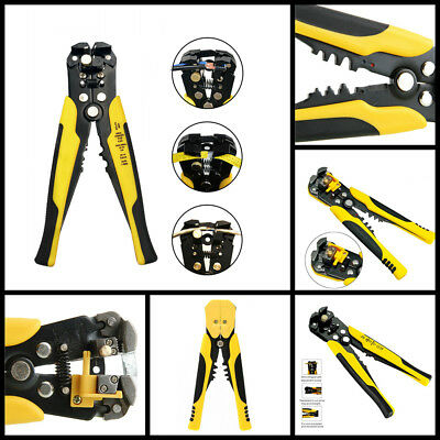 Adjusting Ultimate Self Wire And Cable Stripper Cutter Pliers Handle Grip Tool T