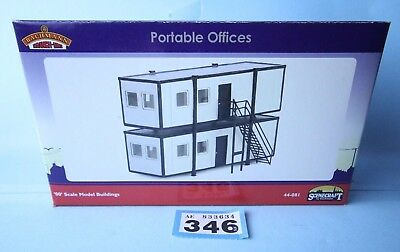 Bachmann 'oo' Gauge 44-081 Scenecraft Portable Offices New & Boxed #346