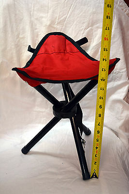 Folding chair color red and black ( ref#bte23 )