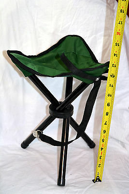Folding chair color green and black ( ref#bte23 )