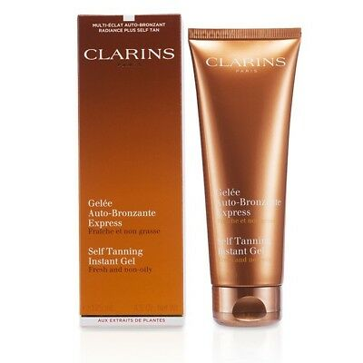 Clarins Self Tanning Instant Gel 125ml Sun Care & Bronzers