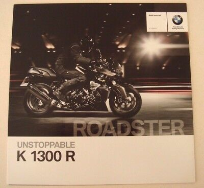 BMW . K 1300 R . Roadster 2011 . Sales Brochure