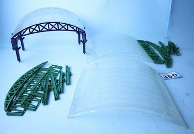 Hornby 'oo' Gauge Over Roof Canopy's Lot Of 3 Inc Pillars Etc #350