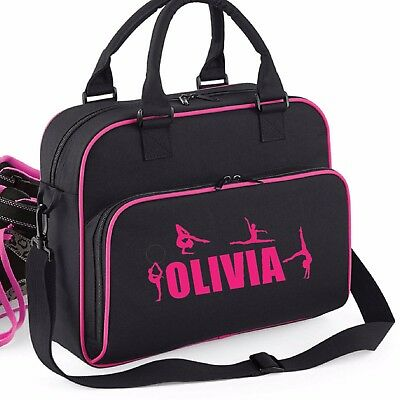 Personalised Gymnastic Bags School Lunch Gym Girls Kids Jump Unisex Outdoor New