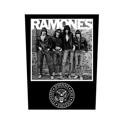 Ramones 1976 Back Patch Sew On Official Badge Album Band Punk Rock Retro