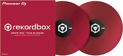 Pioneer DJ RB-VD1-CR RekordBox DVS control vinyl - Red - Pair