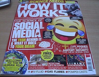 How It Works magazine #102 2017 Science of Social Media +Pangolins, Synthesisers