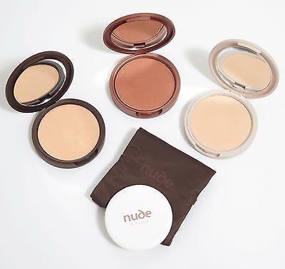 Nude By Nature Mineral Foundation Pressed Powder