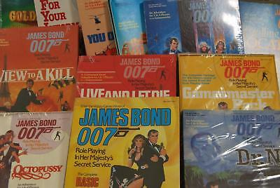 Various James Bond 007 Role Playing Game Items - Most are Sealed - Multi-Listing