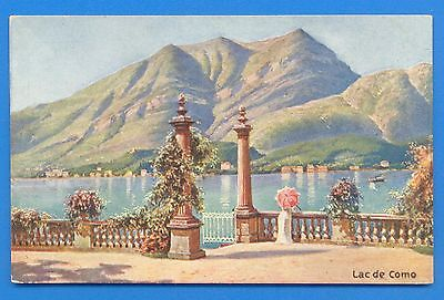 Lac De Como.art Postcard
