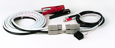 GRO84-9279 Grote  Booster Cables, Jumper Cables Heavy Duty-20 Feet - Plug-In End