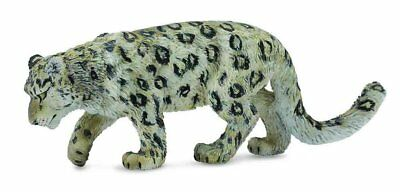 CollectA Wildlife Snow Leopard Adult Toy Figure - Authentic Hand Painted Model