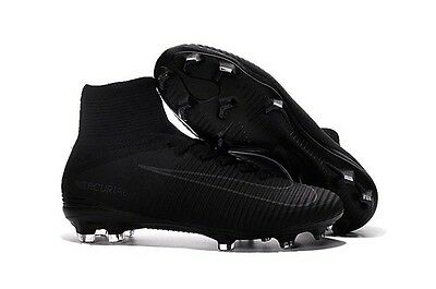 Nike Mercurial Superfly V  Total Black  FG