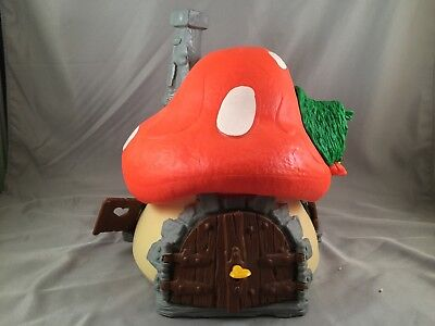 Vintage 1976 Original Peyo Large Smurf House by Schleich