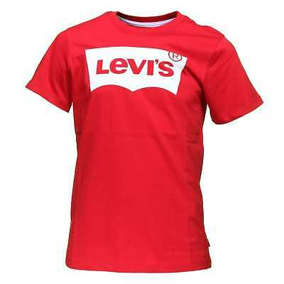 LEVI'S Maglia T-Shirt Ragazzi Rosso N91004H-03-RED