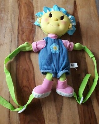 Fifi And The Flower Tots Backpack Bag Plush Toy 2 Compartments