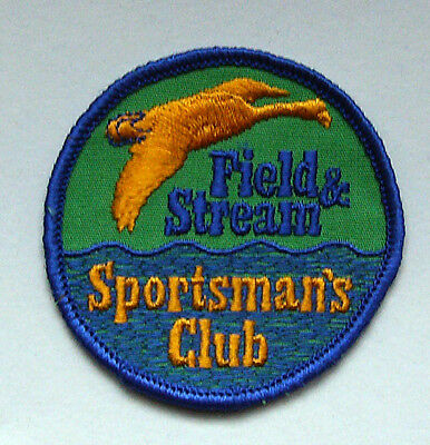 Vintage Field & Stream Sportsman's Club Patch