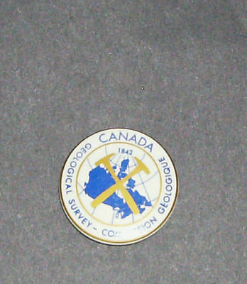 Geological Survey - Commission Button - Canada 1842