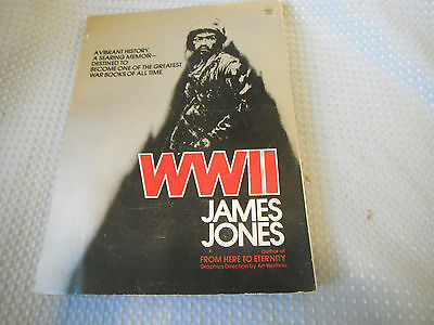 1975 WWII Chronicle of Soldiering James Jones 1st Edition Free Shipping USA