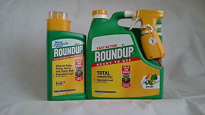 Roundup Weedkiller 3L & Optima Concentrate 540ml Combo Pack - Best Value Pack 5L