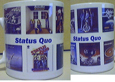 Status Quo rock group Album Cover Mug New  Great Gift