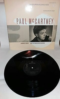 "PAUL McCARTNEY ONCE APON A LONG AGO 12"" VINYL RECORD 1987"