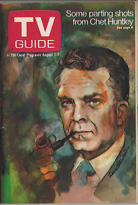 1970 TV Guide Chet Huntley August 1-7