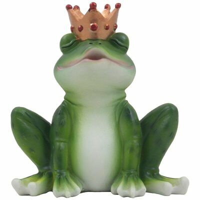 Garden Frog Figurine Statue Romantic Outdoor Decor Yard Home Lawn Gift New Model