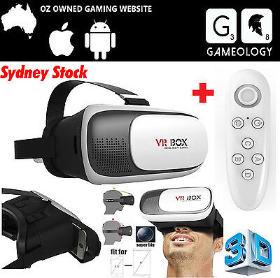 AU 2017 VR Headset VR BOX Virtual Reality Glasses 3D for Samsung Iphone 6s 7Plus