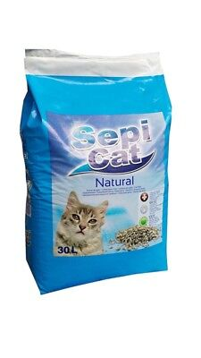 Sepicat Lightweight Non Clumping Cat Litter 30 Litre * Brand NEW * Fast Delivery