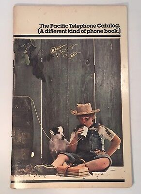 1978 The Pacific Telephone Catalog (A Different Kind Of Phone Book)