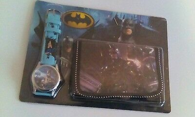 Kids Batman Watch And Wallet Set Free Shipping  Usa Seller