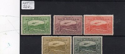 Lot Of New Guinea Stamps M/mint