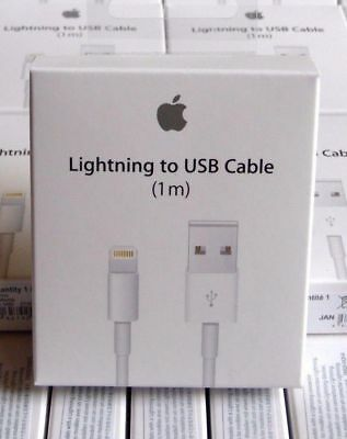 USB Lightening Sync Charger Cable For Apple Iphone 7s 7 6 6s Plus 5 SE Ipad Ipod