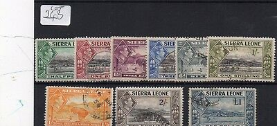 Lot Of Sierra Leone Used Stampw With £1 Value
