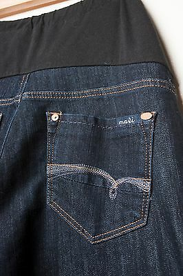 Women's MAVI JEANS Maternity with Belly Panel 30x34 STRAIGHT Leg