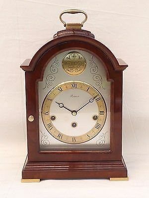 Superb, Rapport   Wuba  Hermle  Mahogany Westminster Chime Bracket Mantle Clock