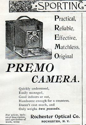 1895 Premo Camara ad -Rochester Optical--0-984