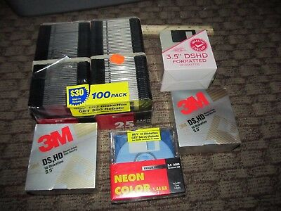 Lot of 150 NOS 3.5 Disks DSHD Formatted Diskettes