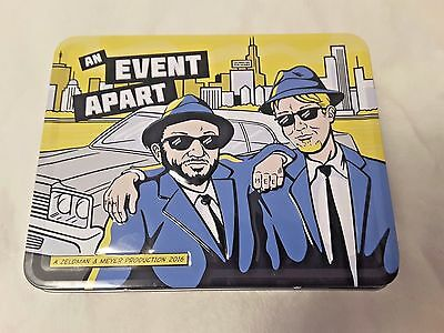 BLUES BROTHERS  LUNCH BOX & THERMOS An Event Apart Zeldman Meyer