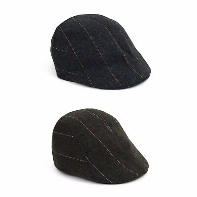 IFW1720 Men's Traditional Leather Fall// Winter Ivy Cap
