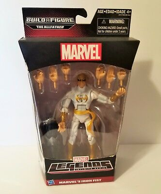 Marvel Legends Infinite Series Iron Fist Action Figure BAF The Allfather