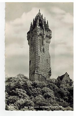 Stirling Wallace Monument postcard 463