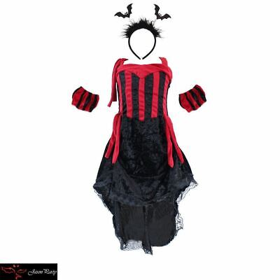Evil Queen girl Sexy Halloween costume party cosplay Vampire Outfit fancy dress