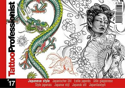 Inspire Uk Tb47 Professionist Japanese  No17 Tattoo Design