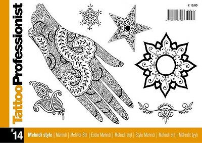 Inspire Uk Tb44 Professionist Mehndi  No.14 Tattoo Design