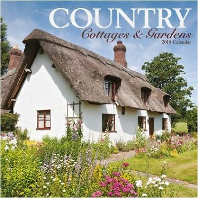 Country Cottages & Gardens 2018 Square Wall Calendar