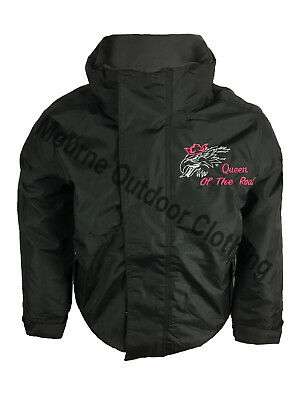 Scania V8 Kids Girls Regatta Fleece Lined Waterproof Jacket Embroidered Logo