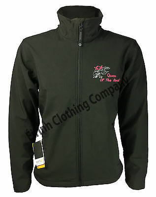 Scania V8 Womens Ladies Regatta Full Zip Soft Shell Jacket with Embroidered Logo